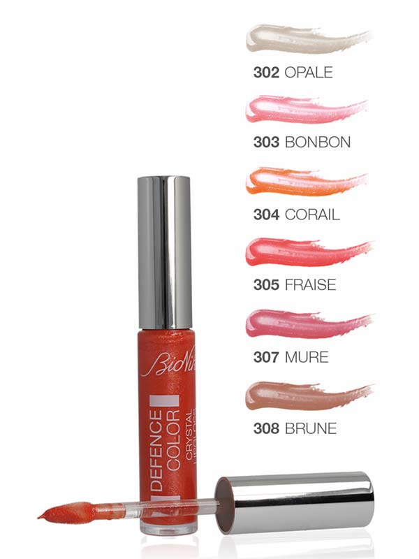 BIONIKE DEFENCE COLOR CRYSTAL LIPGLOSS N 308 BRUN 6 ML
