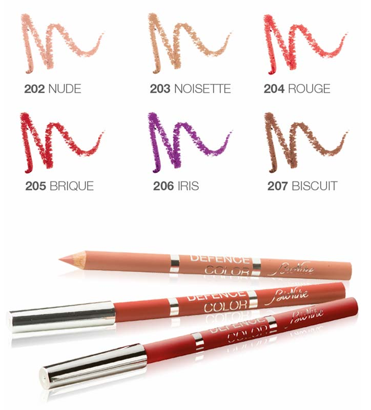 BIONIKE DEFENCE COLOR LIP DESIGN MATITA LABBRA N 202 NUDE