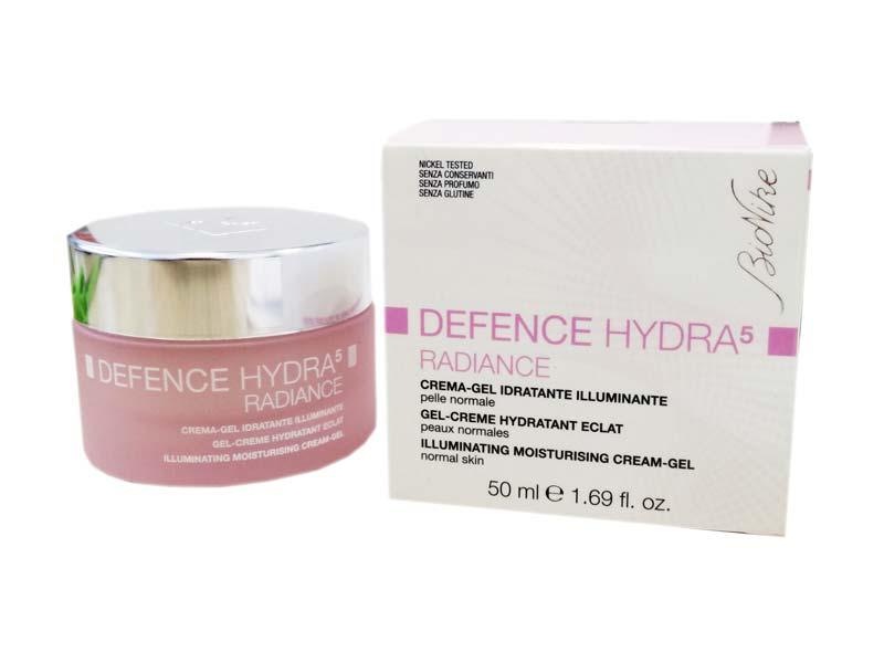 BIONIKE DEFENCE HYDRA5 RADIANCE CREMA GEL IDRATANTE ILLUMINANTE 50 ML