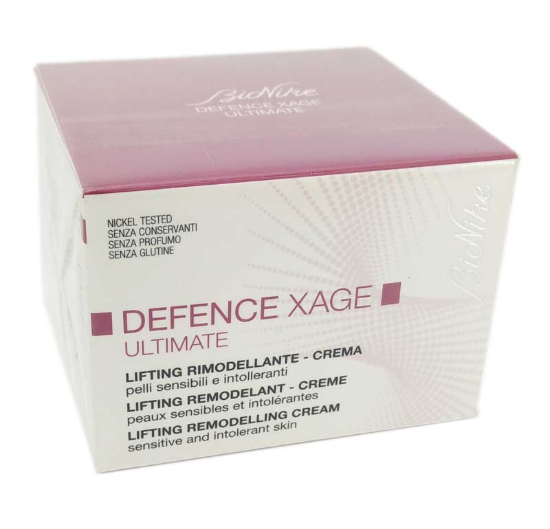 BIONIKE DEFENCE XAGE ULTIMATE CREMA LIFTING RIMODELLANTE 50 ML