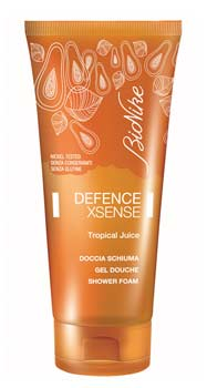 BIONIKE DEFENCE XSENSE DOCCIA SCHIUMA TROPICAL JUICE - 200 ML