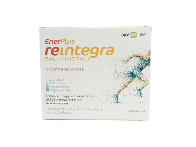 BIOS LINE ENERPLUS REINTEGRA SALI MINERALI - 10 BUSTINE DA 7,3 G