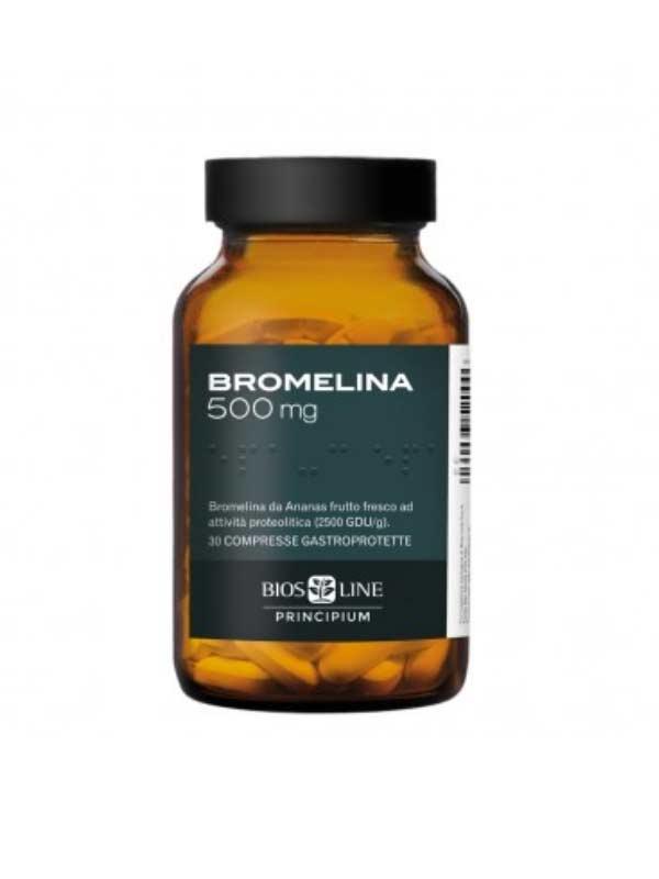 BIOS LINE PRINCIPIUM BROMELINA 500 MG - 30 COMPRESSE