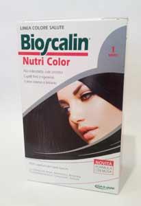 BIOSCALIN NUTRI COLOR TINTA CAPELLI - N. 1 NERO