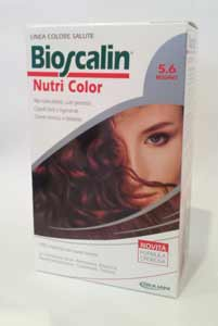 BIOSCALIN NUTRI COLOR TINTA CAPELLI - N. 5.6 MOGANO