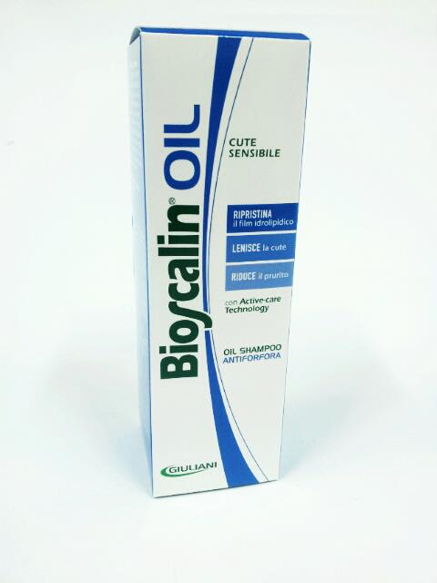 BIOSCALIN OIL SHAMPOO ANTIFORFORA CUTE SENSIBILE - 200 ML