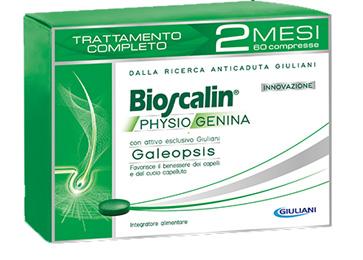 BIOSCALIN PHYSIOGENINA 60 COMPRESSE TRATTAMENTO COMPLETO 2 MESI