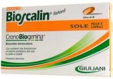 BIOSCALIN RETARD SOLE PELLE E CAPELLI CON CRONOBIOGENINA - 30 COMPRESSE