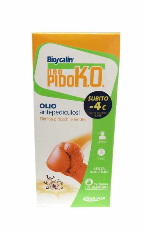 BIOSCALIN SPRAY PIDOKO OLIO ANTI PIDOCCHI - 75 ML + PETTININO INCLUSO