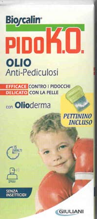 BIOSCALIN SPRAY PIDOKO OLIO ANTI PIDOCCHI 75 ML + PETTININO