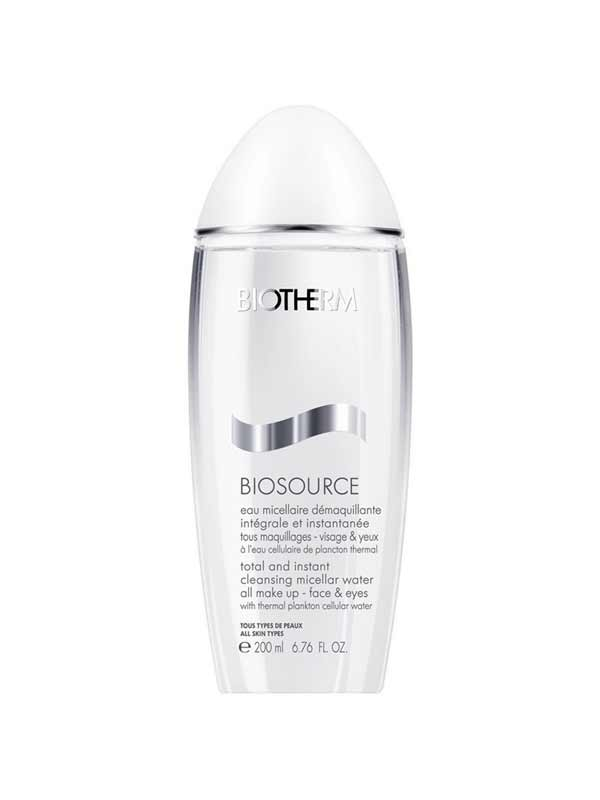 BIOTHERM BIOSOURCE EAU MICELLARE DEMAQUILLANTE 200 ML