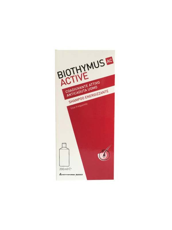 BIOTHYMUS AC ACTIVE SHAMPOO ENERGIZZANTE UOMO 200 ML