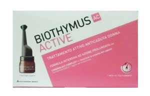 BIOTHYMUS AC ACTIVE TRATTAMENTO ATTIVO ANTICADUTA DONNA - 10 FIALE DA 3,5 ML