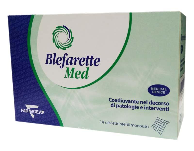BLEFARETTE MED SALVIETTINE OCULARI MEDICALI 14 PEZZI