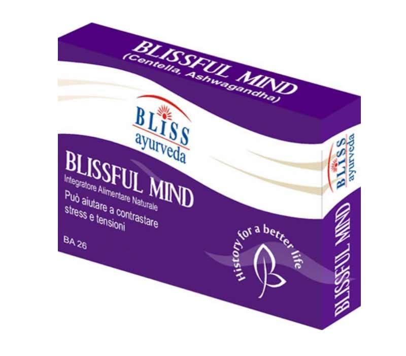 BLISSFUL MIND INTEGRATORE UTILE PER RIDURRE STRESS E ANSIA LIEVE - 60 COMPRESSE