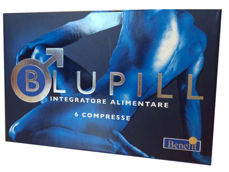 BLUPILL 6 COMPRESSE EREZIONE IMMEDIATA