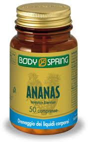 BODY SPRING ANANAS - 50 COMPRESSE