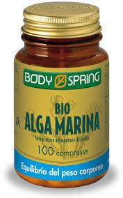 BODY SPRING BIO ALGA MARINA KELP - 100 COMPRESSE