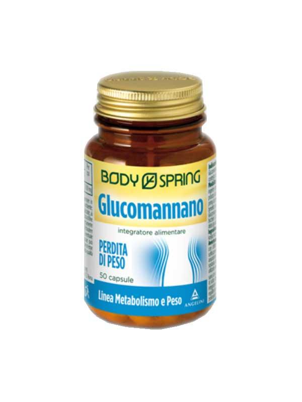 BODY SPRING GLUCOMANNANO - 50 CAPSULE