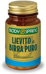 BODY SPRING LIEVITO DI BIRRA PURO - 100 COMPRESSE