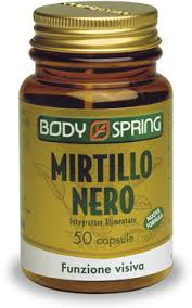 BODY SPRING MIRTILLO NERO - 50 CAPSULE