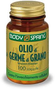 BODY SPRING OLIO DI GERME DI GRANO - 100 CAPSULE