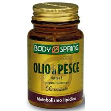 BODY SPRING OLIO DI PESCE OMEGA 3 - 50 CAPSULE