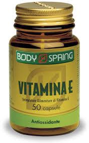 BODY SPRING VITAMINA E - 50 CAPSULE