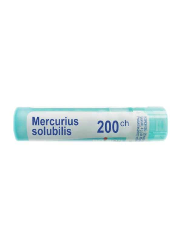 BOIRON MERCURIUS SOLUBILIS 200CH GLOBULI