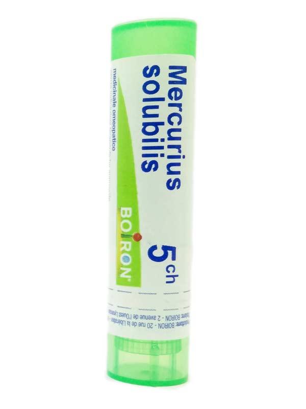 BOIRON MERCURIUS SOLUBILIS 5CH GRANULI 4 G