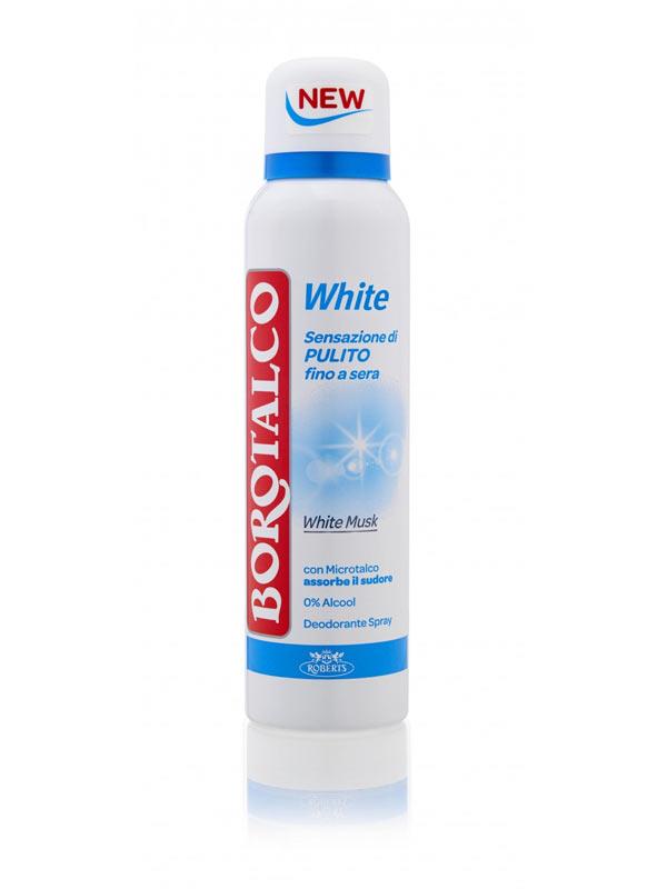 BOROTALCO DEO SPRAY WHITE 150 ML