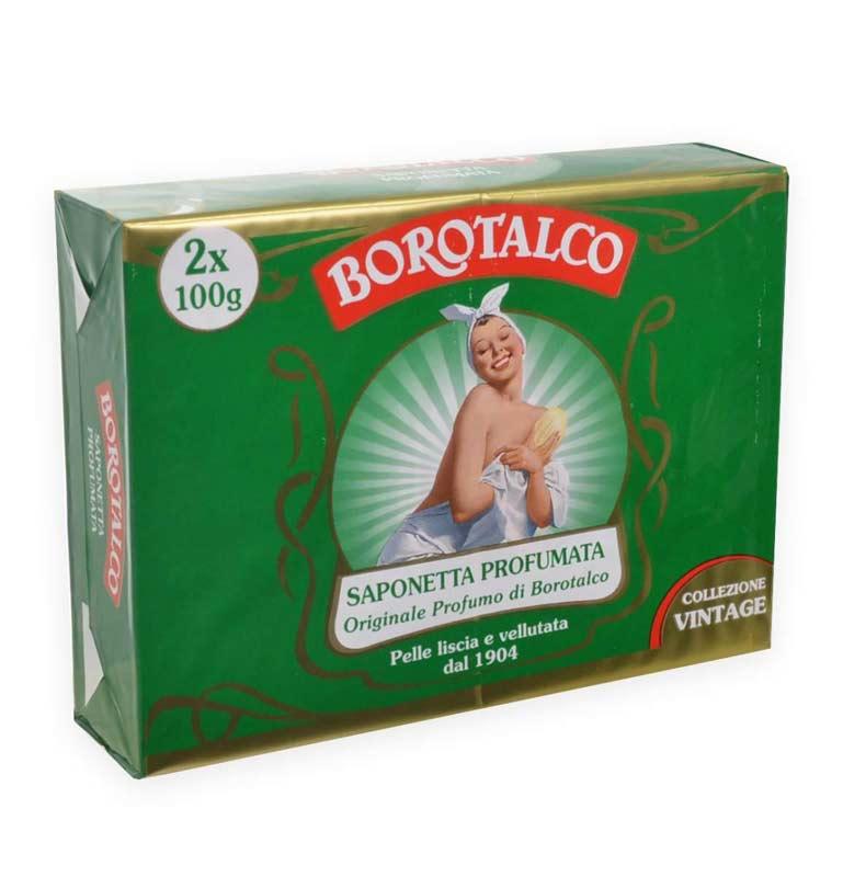 BOROTALCO SAPONE IDRATANTE ORIGINAL 2x100 G