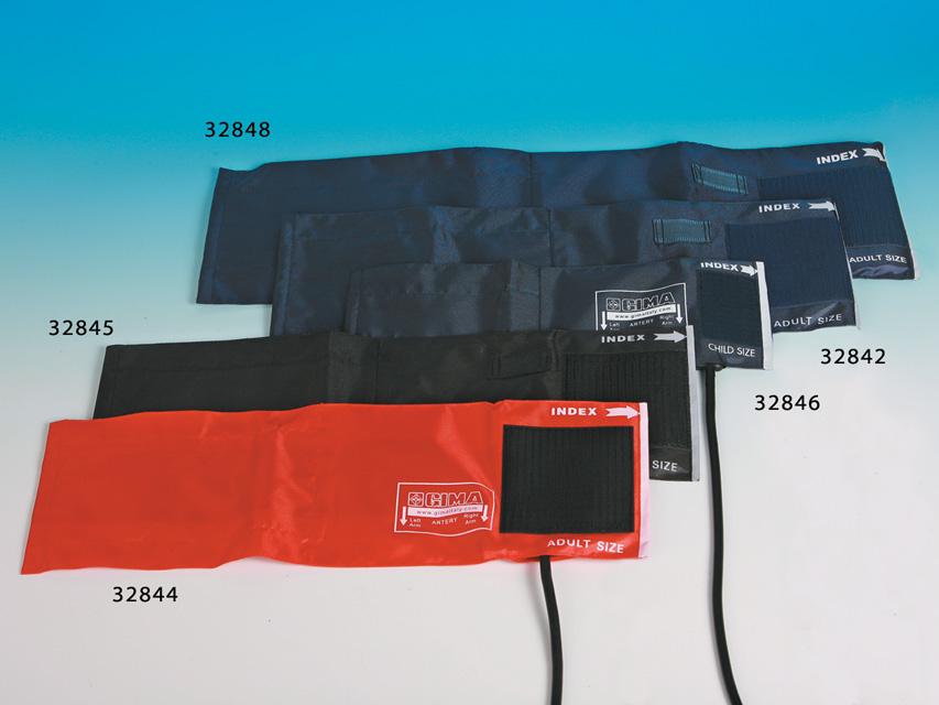 BRACCIALE ADULTI + POLMONE 1 TUBO - 49 x 15 cm - nylon blu
