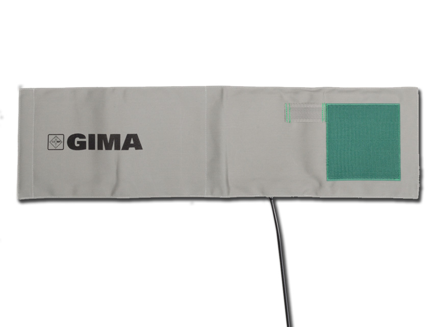 BRACCIALE COTONE + POLMONE IN TPU - adulto - grigio/verde - 1 tubo