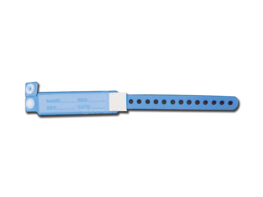 BRACCIALE IDENTIFICATIVO NEONATO - azzurro - 100 pezzi