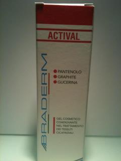 BRADERM ACTIVAL GEL 30 ml