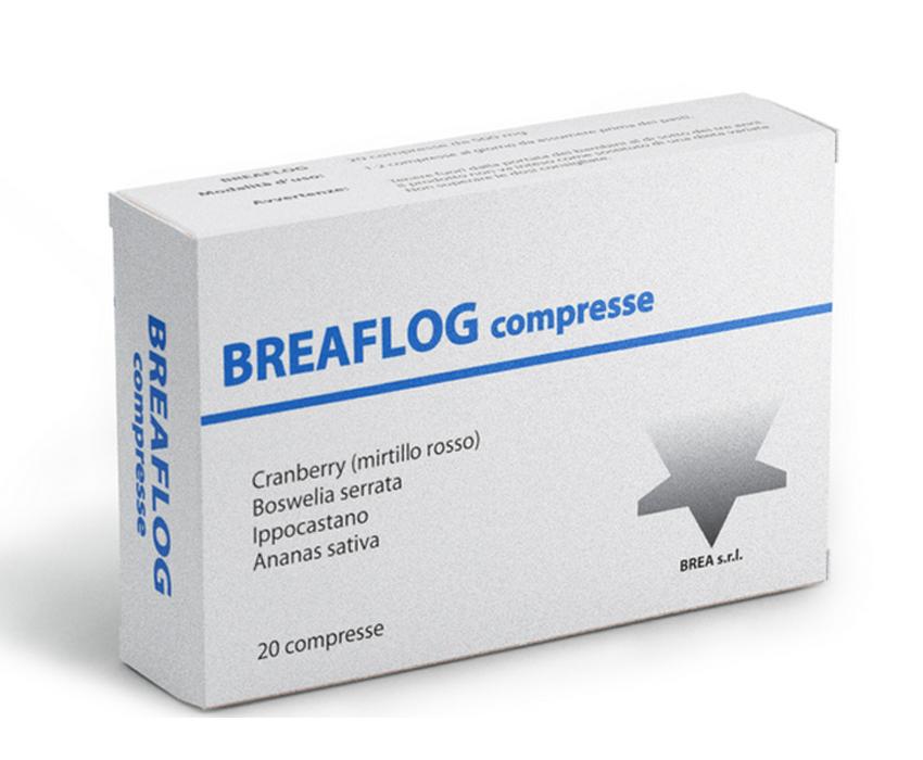 BREAFLOG 20 COMPRESSE DA 450 MG