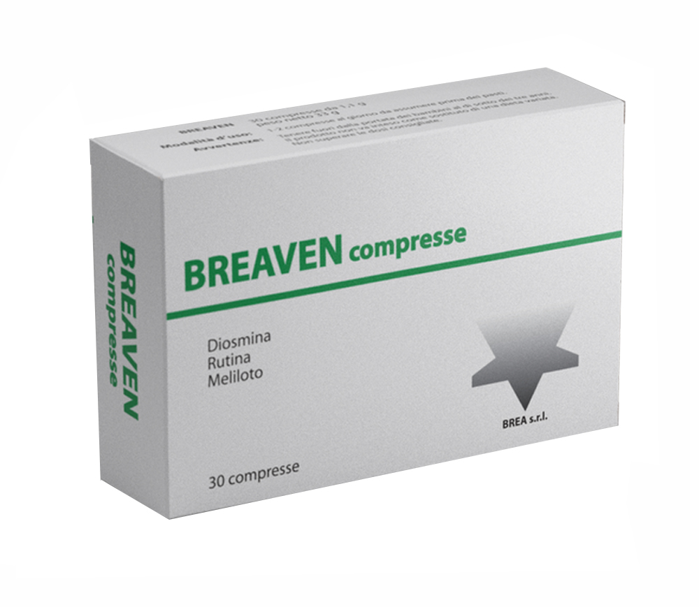BREAVEN 30 COMPRESSE
