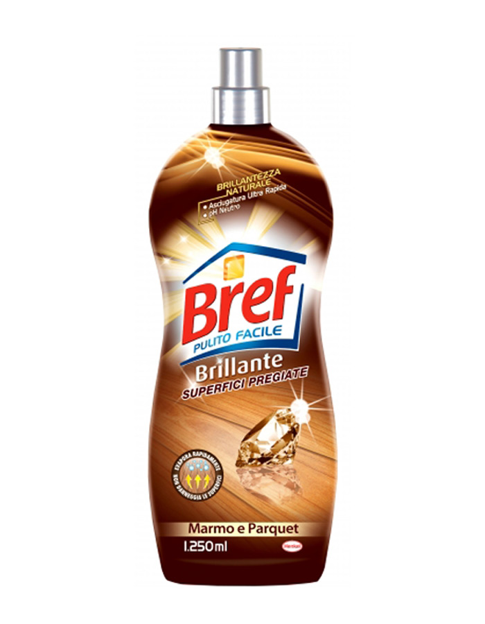 BREF PAVIMENTI BRILLANTE SUPERFICI PREGIATE 1250 ML