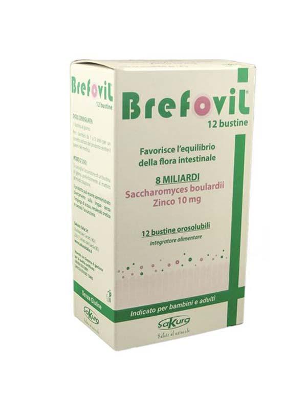 BREFOVIL 12 BUSTINE OROSOLUBILI