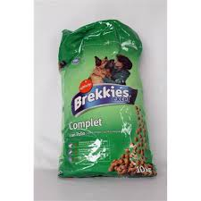 BREKKIES DOG COMPLET CON POLLO KG.10