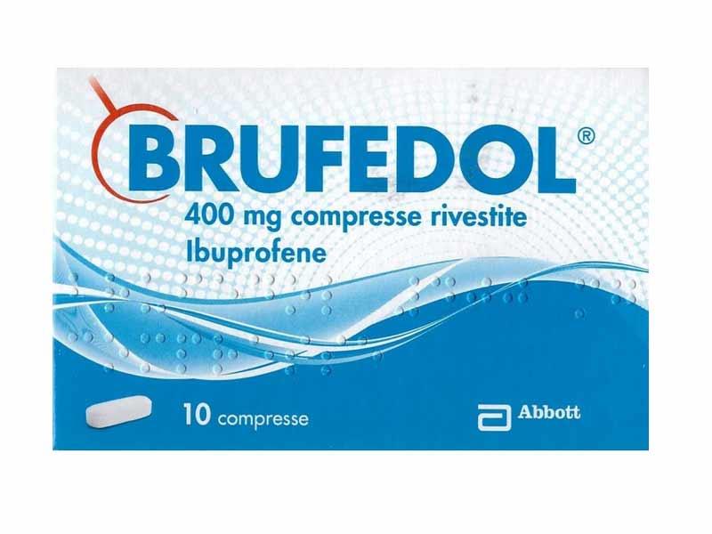 BRUFEDOL 400MG - 10 COMPRESSE RIVESTITE