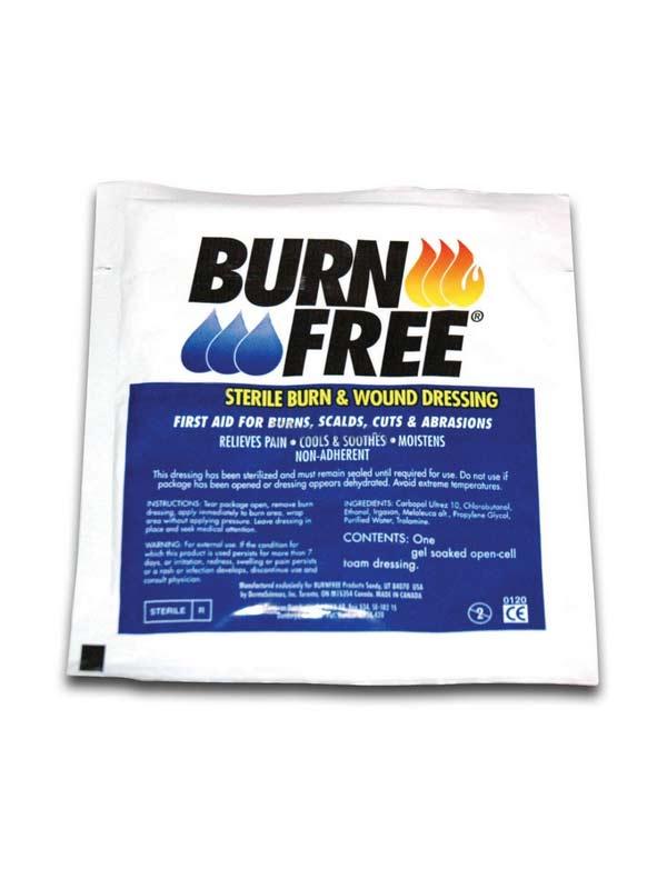 BURN FREE GARZA ANTIUSTIONE - 5 x 5 CM