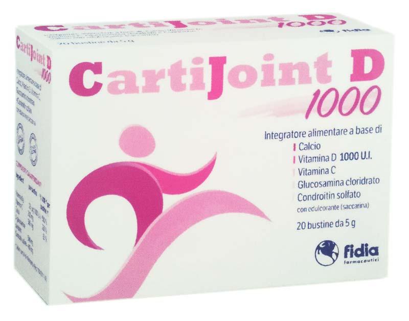 CARTIJOINT D 1000 20 BUSTE DA 5 G