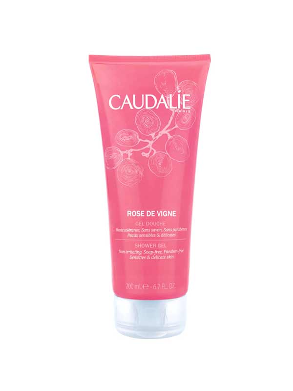 CAUDALIE ROSE DE VIGNE SHOWER GEL - 200 ML
