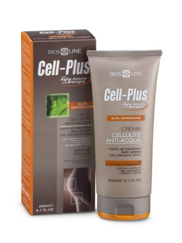 CELL-PLUS ALTA DEFINIZIONE - CREMA CELLULITE ANTI-ACQUA - 200 ML