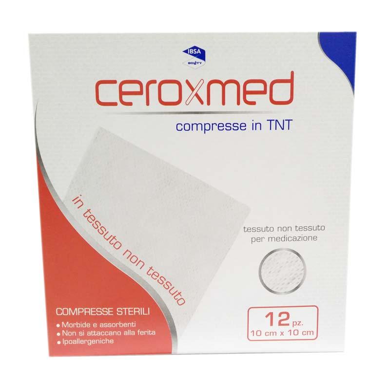 CEROXMED COMPRESSE IN TNT 12 PEZZI DA 10 x 10 CM