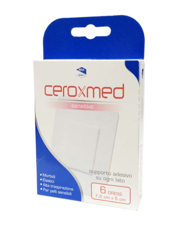 CEROXMED SENSITIVE 6 DRESS DA 7,2 X 5 CM