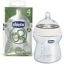 CHICCO BIBERON STEP UP 2 4M+ 250 ml