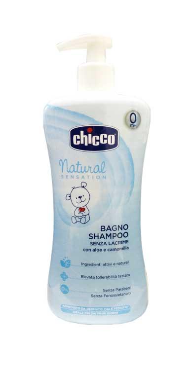 CHICCO NATURAL SENSATION BAGNO SHAMPOO SENZA LACRIME - 500 ML